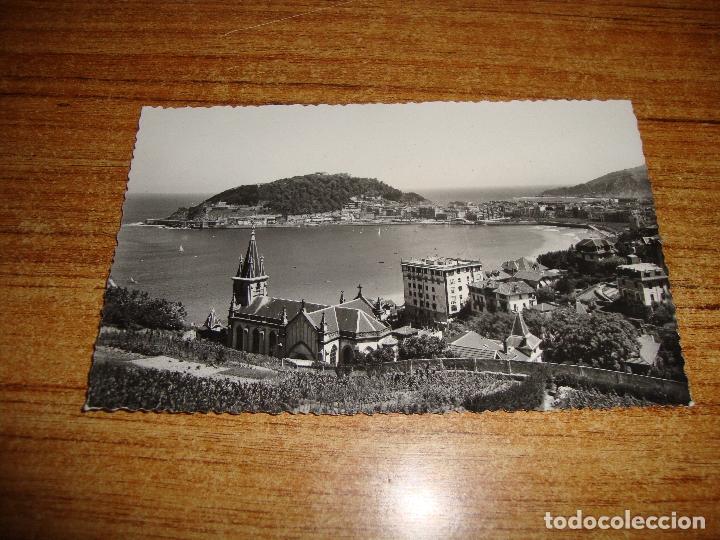 (ALB-TC-202) POSTAL SAN SEBASTIAN VISTA PARCIAL DESDE ALDAPETA (Postales - España - País Vasco Moderna (desde 1940))