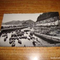 Postales: (ALB-TC-202) POSTAL SAN SEBASTIAN PUERTO DE PESCADORES. Lote 179032182