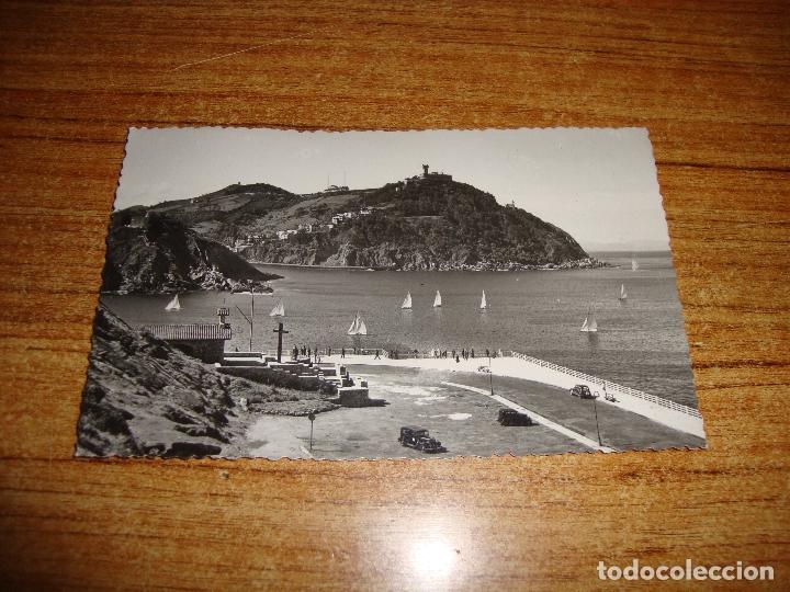 (ALB-TC-202) POSTAL SAN SEBASTIAN IGUELDO Y PASEO NUEVO (Postales - España - País Vasco Moderna (desde 1940))