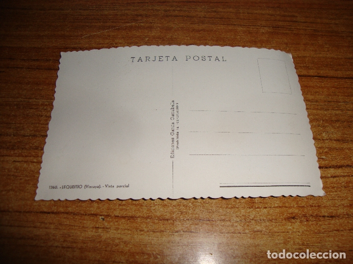 Postales: (ALB-TC-202) POSTAL LEQUEITO VISTA PARCIAL - Foto 2 - 179041258
