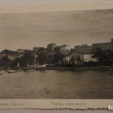 Postales: ANTIGUA POSTAL PUERTO Y VISTA PARCIAL.PLENCIA MADYMA Nº 186. Lote 179043727