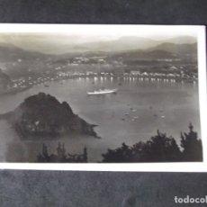 Postales: SAN SEBASTIAN-V12-SIGLOXX-14X9CM-VISTA DESDE IGUELDO-GALARZA. Lote 179062710