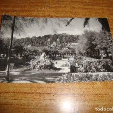 Postales: (ALB-TC-202) POSTAL SAN SEBASTIAN JARDINES DEL PARQUE ALDERDI EDER. Lote 179083235