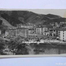 Postales: ONDARROA. VIZCAYA. PUENTE GIRATORIO SOBRE LA RIA. J. GARCIA. SIN CIRCULAR. CCTT. Lote 179376226
