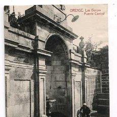 Cartes Postales: ORENSE LAS BURGAS FUENTE CENTRAL. FOTOTIPIA THOMAS. SIN CIRCULAR. Lote 179537593