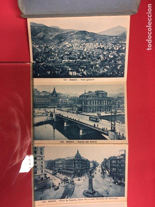 Postales: BLOC DE 16 VISTAS AZUL DE BILBAO L. ROLSIN FOT. POSTALES ACORDEON - Foto 5 - 179942806