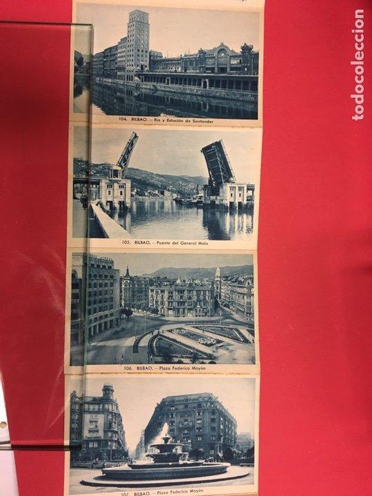Postales: BLOC DE 16 VISTAS AZUL DE BILBAO L. ROLSIN FOT. POSTALES ACORDEON - Foto 6 - 179942806