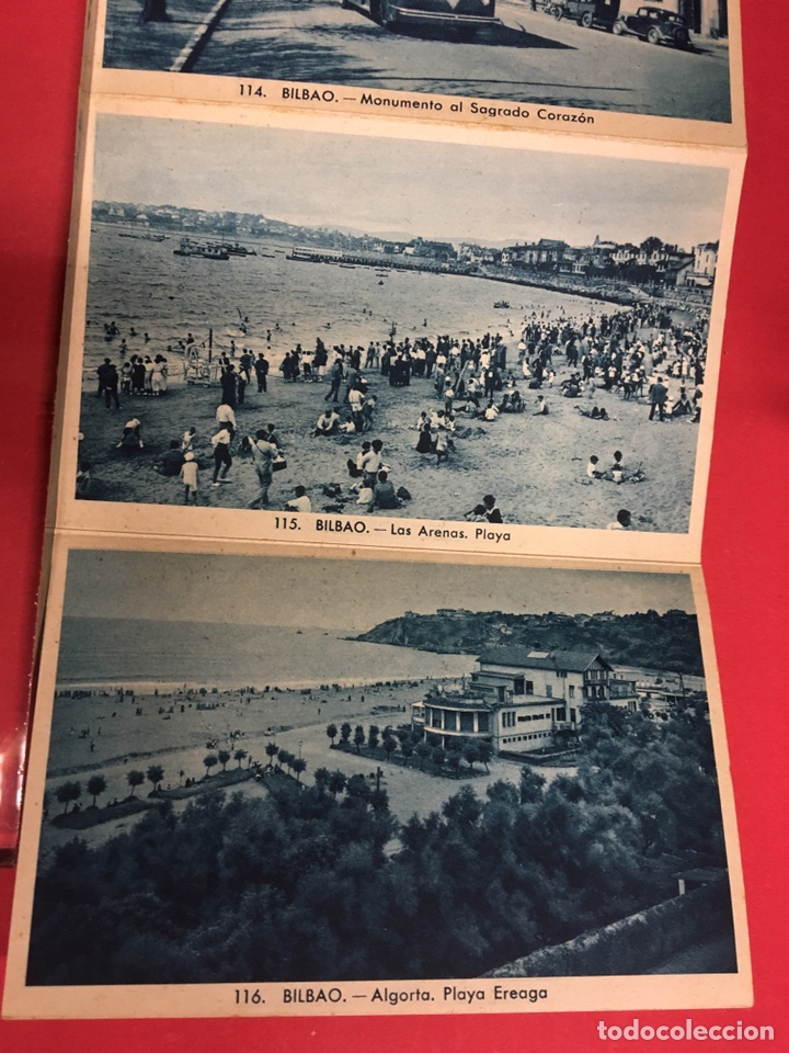 Postales: BLOC DE 16 VISTAS AZUL DE BILBAO L. ROLSIN FOT. POSTALES ACORDEON - Foto 9 - 179942806