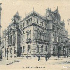 Postales: BILBAO, DIPUTACIÓN - L.ROISIN FOT. Nº 22 - S/C. Lote 180088456