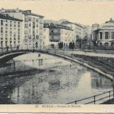 Postales: BILBAO, PUENTE DE HIERRO - L.ROISIN FOT. Nº 25 - S/C. Lote 180088666
