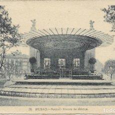 Postales: BILBAO, ARENAL, KIOSKO DE MÚSICA - L.ROISIN FOT. Nº 28 - S/C. Lote 180088778