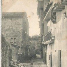 Postales: GUIPUZCOA FUENTERRABIA DORSO SIN DIVIDIR. Lote 180264962