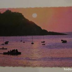 Postales: SAN SEBASTIÁN COUCHER DU SOLEIL AU GOLFE DE BISCAYE VIZCAYA 109 FOTO WILLY KOCH. Lote 180284075