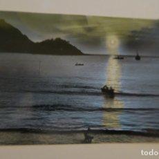 Postales: SAN SEBASTIÁN EFECTOS DE SOL EN LA BAHÍA 266 FOTO GALARZA. Lote 180284301