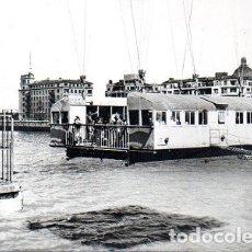 Postales: BILBAO - 46 BARQUILLA TRANSBORDADOR PUENTE DE VIZCAYA. Lote 180286616