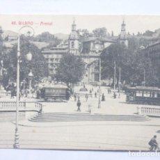Postales: BILBAO , ARENAL , TRANVIAS. Lote 180289603
