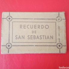 Postales: POSTALES ANTIGUAS SAN SEBASTIÁN 10 UNIDADES.. Lote 181032810