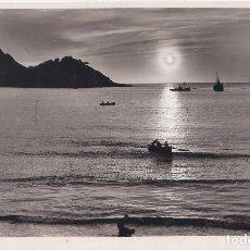 Postales: SAN SEBASTIAN (GUIPUZCOA) - EFECTOS DE SOL EN LA BAHIA. Lote 181229863