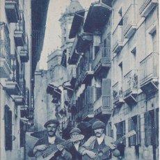 Postales: FUENTERRABIA (SAN SEBASTIAN - GUIPÚZCOA) - CALLE MAYOR. Lote 181229963