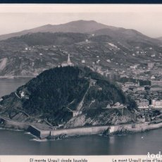 Postales: POSTAL SAN SEBASTIAN - MONTE URGULL DESDE IGUELDO - MANIPEL - CIRCULADA. Lote 181544973