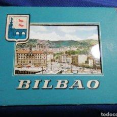Postales: ESTUCHE DE 9 POSTALES CONSECUTIVAS DE BILBAO SIN CIRCULAR. DOMÍNGUEZ. Lote 181903830