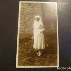 Postales: SAN SEBASTIAN ENFERMERA DE LA CRUZ ROJA MARIN FOTOGRAFO POSTAL FOTOGRAFICA. Lote 182172122