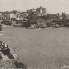 Postales: POSTALES POSTAL BIARRITZ PAIS VASCO FRANCES MATA SELLOS AÑO 1953. Lote 182253868