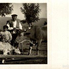 Postales: CAMPESINOS VASCOS , EN EL MERCADO - POSTAL FOTOGRAFICA 14X9 CM. FOTO,GALARZA. Lote 182491981