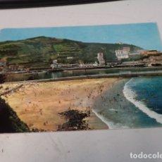 Postales: VIZCAYA - POSTAL ONDÁRROA - PUERTO Y PLAYA. Lote 182582655