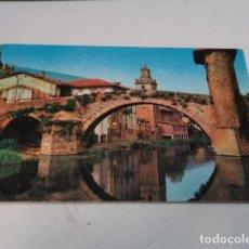 Postales: VIZCAYA - POSTAL VALMASEDA - PUENTE VIEJO. Lote 182598485