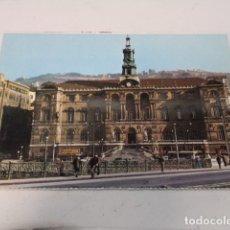 Postales: VIZCAYA - POSTAL BILBAO - PUENTE DEL GENERAL MOLA Y AYUNTAMIENTO. Lote 182599012