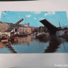Postales: VIZCAYA - POSTAL BILBAO - PUENTE DEL GENERAL MOLA. Lote 182599921