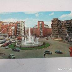 Postales: VIZCAYA - POSTAL BILBAO - FUENTE MONUMENTAL DE LA PLAZA ZABÁLBURU. Lote 182601110