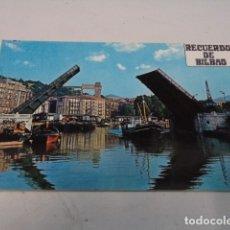 Postales: VIZCAYA - POSTAL BILBAO - PUENTE DEL GENERAL MOLA. Lote 182604656