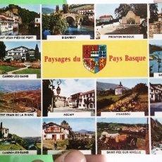 Postales: POSTAL PAUSAGES DU PAYS BASQUE. Lote 182636145
