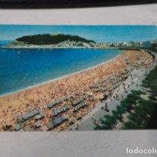 Postales: GUIPÚZCOA - POSTAL SAN SEBASTIÁN - PASEO Y PLAYA DE LA CONCHA. Lote 182884110