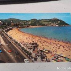 Postales: GUIPÚZCOA - POSTAL SAN SEBASTIÁN - PASEO DE MIRACONCHA Y MONTE IGUELDO. Lote 182884217
