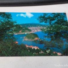Postales: GUIPÚZCOA - POSTAL SAN SEBASTIÁN - VISTA PARCIAL DESDE IGUELDO. Lote 182884522