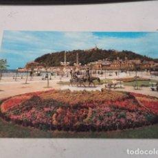 Postales: GUIPÚZCOA - POSTAL SAN SEBASTIÁN - PARQUE DE ALDERDI-EDER Y MONTE URGULL. Lote 182884960