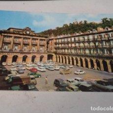 Postales: GUIPÚZCOA - POSTAL SAN SEBASTIÁN - PLAZA DE LA CONSTITUCIÓN. Lote 182885218