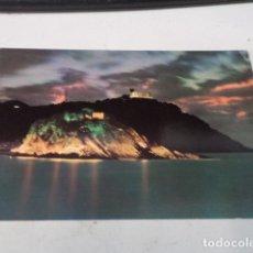 Postales: GUIPÚZCOA - POSTAL SAN SEBASTIÁN - ISLA DE SANTA CLARA Y MONTE IGUELDO. Lote 182885903