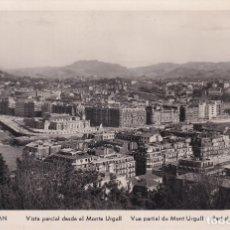 Postales: SAN SEBASTIÁN - VISTA PARCIAL DESDE EL MONTE URGULL - ED. MANIPEL. Lote 182997425