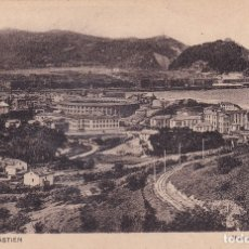 Postales: SAN SEBASTIÁN - VUE VERS LE MONTE ULÍA / VISTA DEL MONTE ULÍA (NO. 8) - ED. LL. Lote 182998795