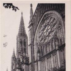 Postales: SAN SEBASTIÁN - CATEDRAL DEL BUEN PASTOR (NO. 7) - ED. L. ROISIN - FOTO. Lote 182999996