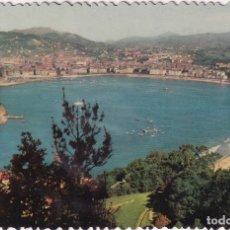 Postales: SAN SEBASTIÁN - VISTA GENERAL DESDE IGUELDO (NO. 11) - FOTOCOLOR. Lote 183004171