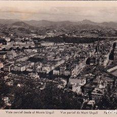 Postales: SAN SEBASTIÁN - VISTA PARCIAL DESDE EL MONTE URGULL - ED. MANIPEL. Lote 183004475