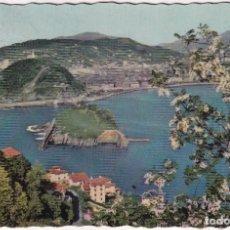 Postales: SAN SEBASTIÁN - VUE GÉNÉRALE DE LA BAIE / VISTA GENERAL DE LA BAHIA (NO. 101) - FOTO WILLY KOCH. Lote 183169351