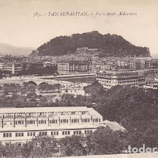 Cartes Postales: SAN SEBASTIAN VISTA DESDE ALDACONCA ED. GREGORIO G. GALARZA Nº 385. Lote 183177745