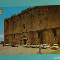 Postales: FUENTERRABÍA. PLAZA DE ARMAS Y PARADOR CARLOS V. EDITOR DOMÍNGUEZ. ESCUDO DE ORO. Lote 183329105