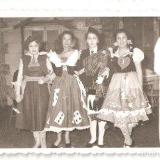 Postales: SAN SEBASTIÁN (GUIPUZCOA) 1953. CARNAVAL DE LA HÍPICA. FOTOCAR (FUENTERRABIA). Lote 183456801